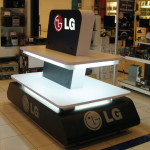 Exhibidor LG