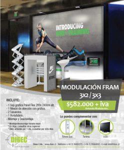 Modulación Fram 3x2/3x3