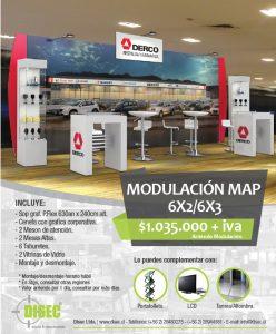 Modulación Map 6x2/6x3