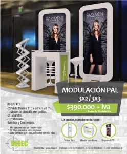 Modulación Pal 3x2/3x3