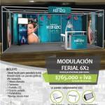 Modulación Ferial perfil a la vista 6x2