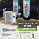 Modulación Vertical Flex 3x2/3x3